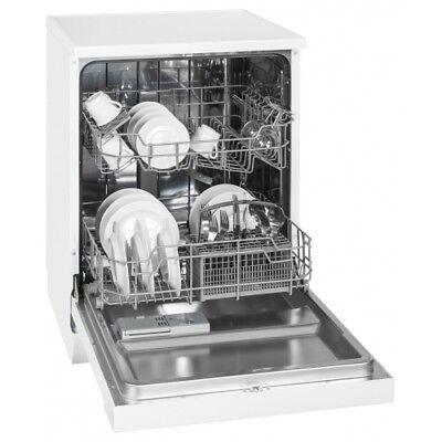 exquisit GSP 9112.1 0610171Stand-Geschirrspüler 60 cm weiß Unterbaufähig