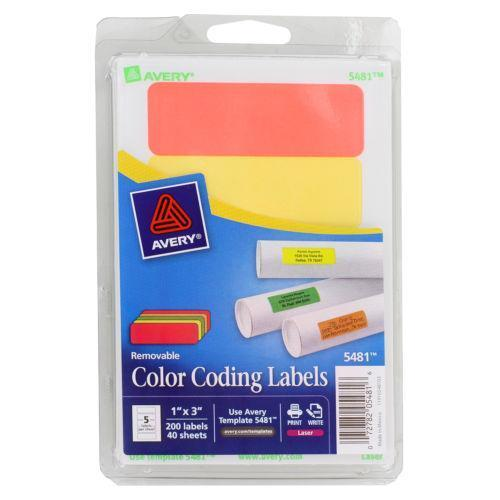 Color Coding Labels Ebay