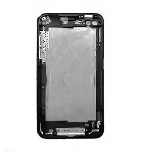 Chrome Rear Back Cover Plate Housing for Apple iPod Touch 4G 4th 8GB Generation