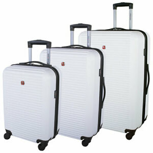 SWISSGEAR  Platthorn 3PC Hard Side 4-Wheel LUGGAGE - NEW IN BOX