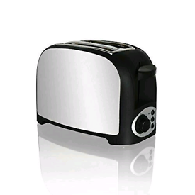 Stainless Steel Toaster 2 Slice NEW
