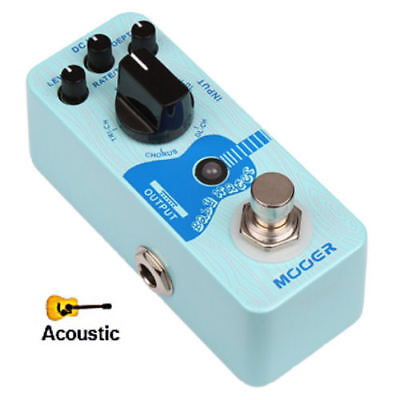 Mooer Baby Water Acoustic Guitar Delay and Chorus Effects Pedal New