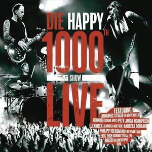 CD Die Happy 1000th Show Live Digipack