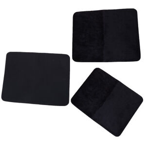 Black High Quality Professional Card Deck Mat Close Up Magic Tricks Pad Toy XR