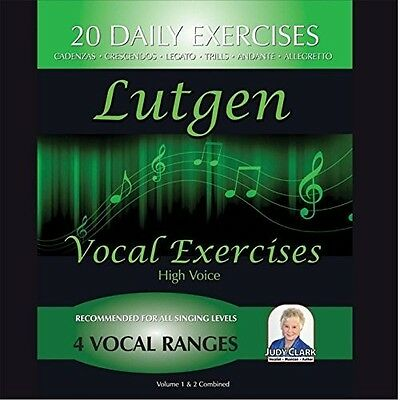 Judy Clark - Lutgen High-Coloratura Voice Vol 1 & 2 Combined [New CD] (Judy Clark)
