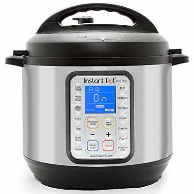 Instant Pot Duo Plus 9-in-1 Electric Pressure Cooker, Sterilizer, Slow Cooker