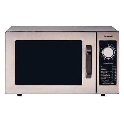 Panasonic Commercial Microwave - Medium Duty 1000 Watt Six Minute Dial Timer