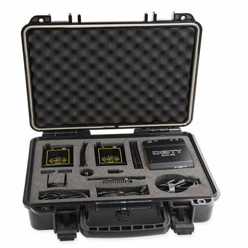 DEITY Connect 2.4G Wireless Lavalier Microphone Dual-Channel Receiver Two Trasm