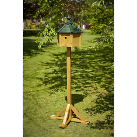 NEW TOM CHAMBERS BIRD ROOST BIRD TABLE/NEST BOX