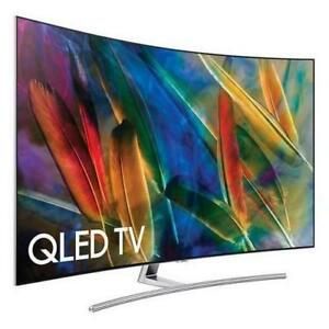 """SAMSUNG 65"""" QLED CURVED 4K HDR ELITE Q7 SERIES SMART UHDTV *NEW IN BOX*"""