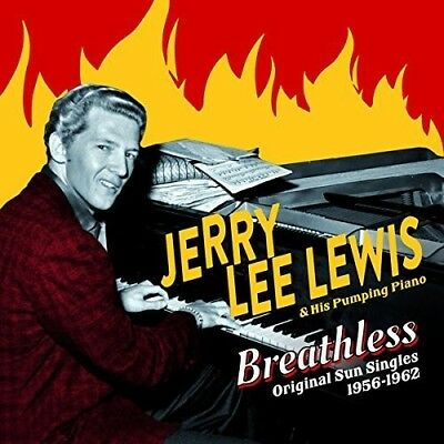 Jerry Lee Lewis   Breathless  Original Sun Singles 1956 1962  New Cd  Bonus Trac