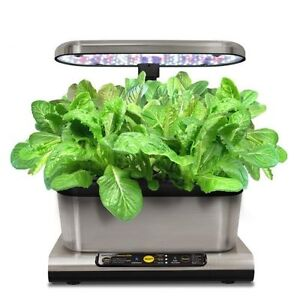 MIRACLE-GRO AEROGARDEN HARVEST ELITE - STAINLESS