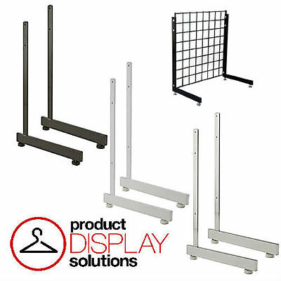 Box Of 2 Grid Gridwall L Shaped Legs Bases Grid Stands Blackwhite Or Chrome