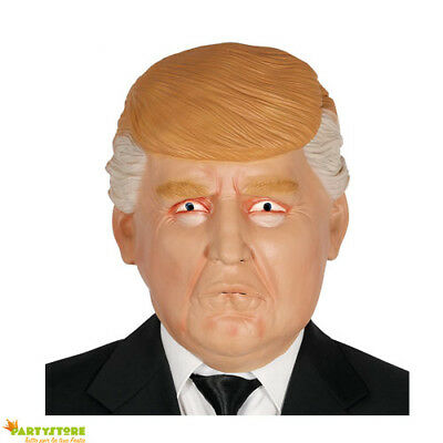 MASCHERA DONALD TRUMP PRESIDENTE STATI UNITI D'AMERICA USA LATTICE CARNEVALE