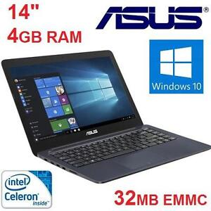 """REFURB ASUS E402SA NOTEBOOK 14"""" - 102154363 - 4GB 32GB SSD N3060  LAPTOP COMPUTER PC - SEE COMMENTS FOR SPECS"""