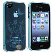 Blue Flower iPhone 4 Case