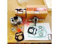 Honda ANF 125 ANF125 Innova (2003-2011) ENGINE REBUILD KIT - CYLINDER CRANKSHAFT