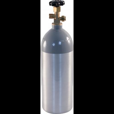 5 lb CO2 Tank Aluminum Air Cylinder Draft Beer Kegerator Welding Wine Homebrew