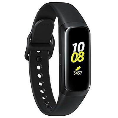 Samsung Galaxy Fit Water Resistance Amoled Display Smartwatch Fitness Band-Black