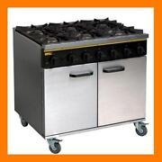 6 Burner Commercial Ovens