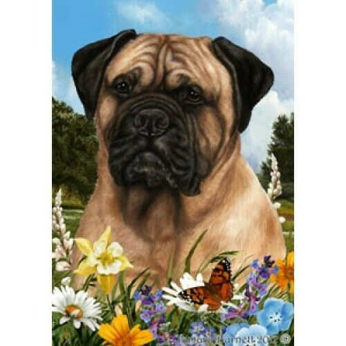 Summer House Flag - Bullmastiff 18050