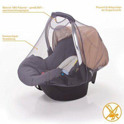 Insektenschutz für Babyschale