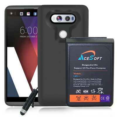 10900mAh Extended Battery + TPU Case for LG V20 H910, LS997, VS995, US996 Phone