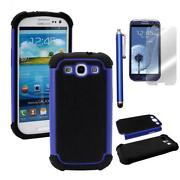 Samsung Galaxy S3 Hard Case Blue