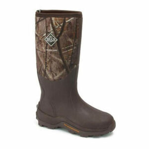 muck mens brushland insulated all terrain rubber