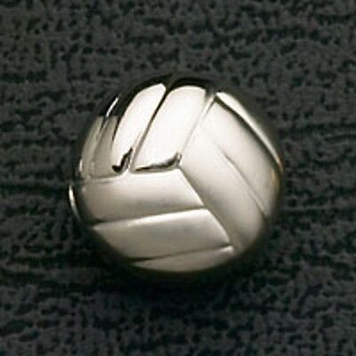 Volleyball Stainless Steel Bead Fits European Charm Bracelet Christmas Gifts New](Volleyball Charm Bracelet)