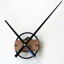 Vintage DIY Oversized 3D Clock Silent Wooden Hanging Wall Clock Home DIY Decors