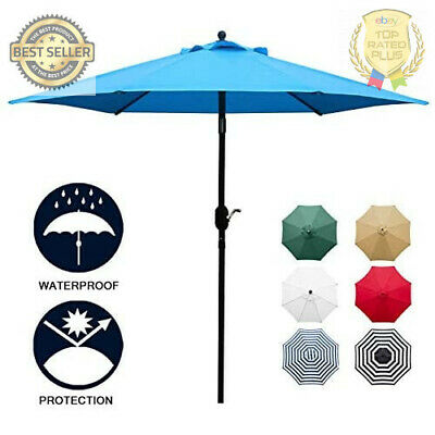 9 sunbrella umbrella fabric aluminum patio auto