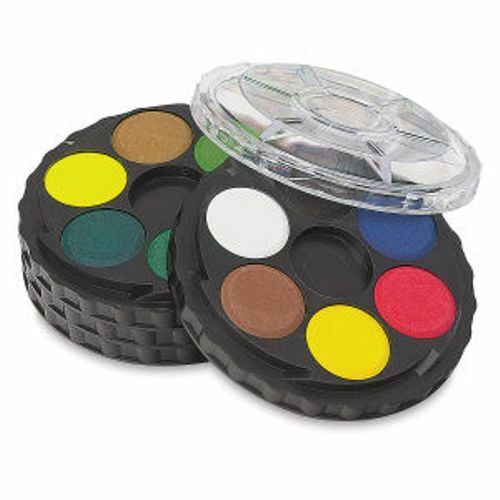 Koh-I-Noor Opaque Watercolor Paint Wheel, 24 Colors, FA171506.BC