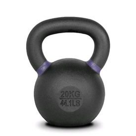 4Kg Powder Coated Cast Iron Kettlebells kettle bell gym weights