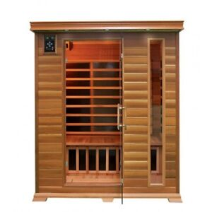 ON SALE ! SAUNA HEATER CEDAR 2 3 4 PERSON INFRARED CARBON FIBER