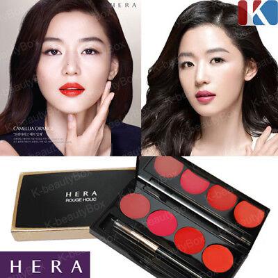 - HERA Rouge Holic Lipstick Best 4 Color Lip Palette / Amore Pacific Lip Makeup