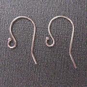 Solid Gold Earring Hooks