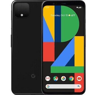 Google Pixel 4 XL 128GB Verizon Smartphone 6.3 QHD+ Display 6GB RAM Just Black
