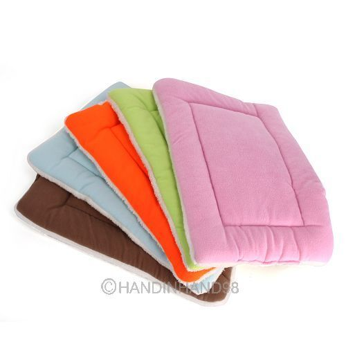 S-M-XL-Size-Dog-Crate-Mat-Kennel-Cage-Pad-Bed-FLUFFY-WASHABLE-TRAVEL-Pet-Cushion