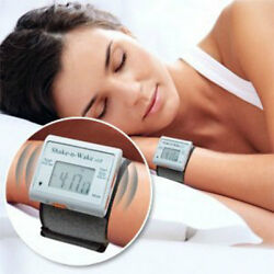 Silent Vibrating Personal Alarm Clock SHAKE N WAKE Wrist Hand Watch under Pillow