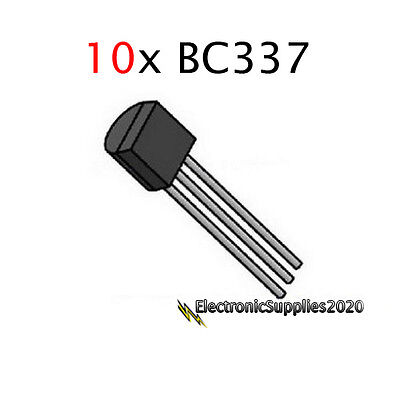 Bc337-40 Npn Transistor To-92 Bc337 - General Purpose-usa Fast Shipping