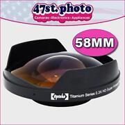 Opteka Fisheye 58mm