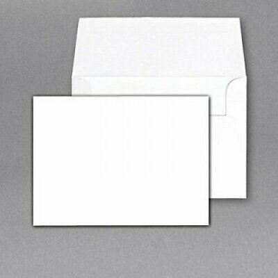"Superfine 5 x 7"" Blank Note Cards and Envelopes - 50 Per"