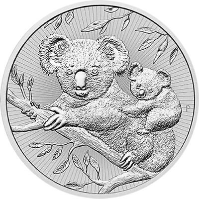 2018 Koala Next Generation Series 2 oz Coin | Lot of 10 in Perth Mint Tube