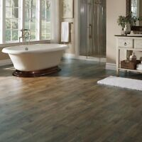 call the laminators - we can install all sorts of flooring