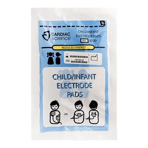 Cardiac Science Child / Infant Electrode Pads for G3 AED - 9730