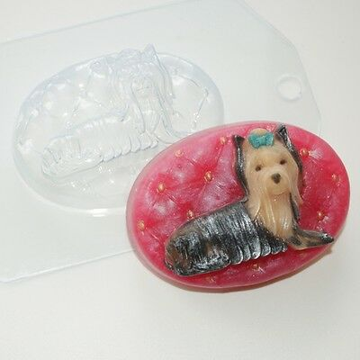 """Yorkshire Terrier"" plastic soap mold soap making mold mould dog"