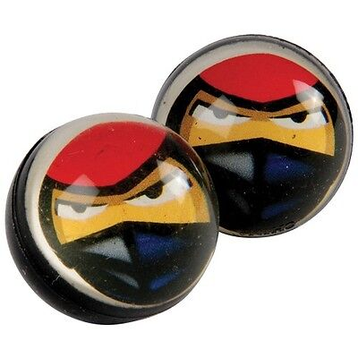 12 Ninja Rubber Bouncy Bounce Ball 32mm Birthday Party Goody Bag Favor Supply - Bouncy Ball Party