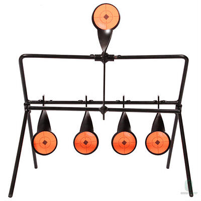 Gallery Swinging Target Spinning Auto Reset Set Air Gun Rifle Airgun Hunting