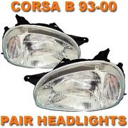 Corsa B Headlights